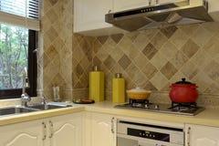 Cucina di alta qualità pulita Immagini Stock