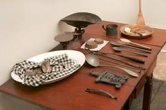 Cucina di giro americano fotografia stock