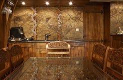 Cucina di lusso Immagine Stock