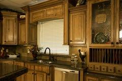 Cucina di lusso organizzata Fotografie Stock