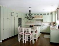 Cucina di stile di paese Fotografia Stock Libera da Diritti