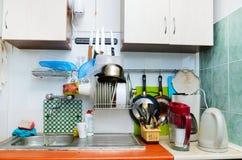 Cucina di vecchio stile Fotografie Stock