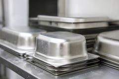 Cucina elettrica in una cucina professionale immagini stock libere da diritti