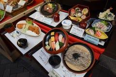 Cucina giapponese Fotografie Stock Libere da Diritti