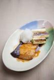 Cucina giapponese Nizakana (karei nessun nitsuke) Immagine Stock