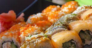 Cucina giapponese - sushi Fotografie Stock