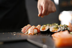 Cucina giapponese, sushi Immagine Stock