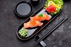 Cucina giapponese Sushi immagine stock libera da diritti