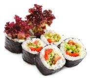 Cucina giapponese - sushi vegetariano fotografia stock