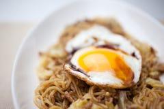 Cucina giapponese Yakisoba Fotografia Stock Libera da Diritti