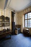 Cucina in Goethe& x27; birthhouse di s a Francoforte fotografia stock