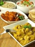 Cucina indiana Fotografie Stock Libere da Diritti