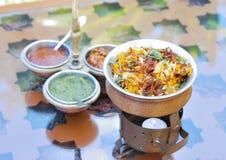 Cucina indiana Fotografie Stock