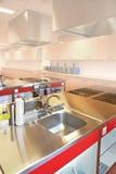 Cucina industriale Immagini Stock