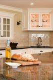 Cucina interna fotografie stock