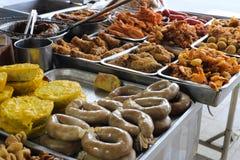 Cucina locale della città di longhai Fotografia Stock
