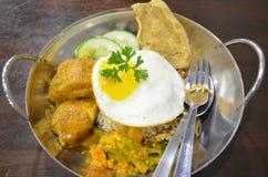 Cucina malese Fotografie Stock