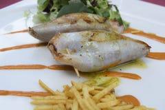 Cucina Mediterranea, Fotografie Stock Libere da Diritti