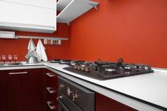 Cucina moderna Immagini Stock Libere da Diritti