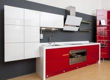 Cucina moderna Immagine Stock Libera da Diritti