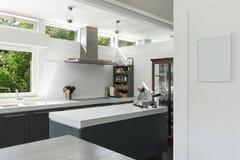 Cucina moderna Fotografia Stock