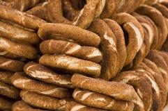 Cucina nazionale turca: simits (bagel) Fotografia Stock Libera da Diritti