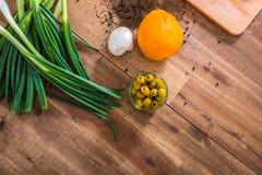 Cucina organica Fotografia Stock