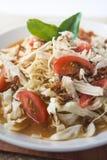 Cucina piccante dell'Indonesia della minestra della tagliatella del pollo fotografie stock