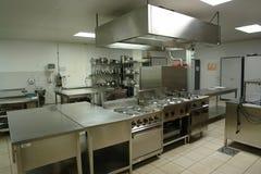 Cucina professionale Immagini Stock