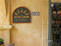 Cucina Sedona store front Royalty Free Stock Images