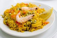 Cucina spagnola Immagini Stock