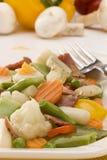 Cucina spagnola. Miscuglio Mixed delle verdure. fotografie stock libere da diritti