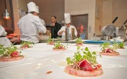 Cucina stellata Fotografia Stock