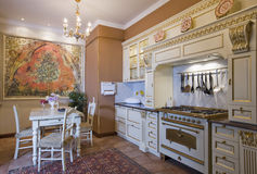 cucina su ordinazione fotografie stock