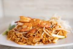 Cucina tailandese del cuscinetto fotografie stock