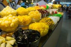 Cucina tailandese deliziosa a Bangkok, Tailandia Fotografia Stock