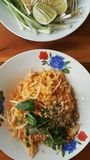 Cucina tailandese Padthai Fotografie Stock Libere da Diritti