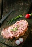 Cucina tedesca sana deliziosa Fotografie Stock Libere da Diritti