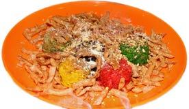 Cucina tradizionale cinese di nuovo anno Immagine Stock Libera da Diritti