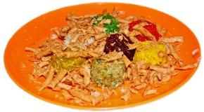 Cucina tradizionale cinese di nuovo anno Fotografia Stock Libera da Diritti