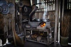 Cucina tradizionale in porvince di Ben Tre fotografie stock