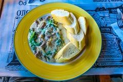 Cucina tradizionale ucraina 04 fotografia stock