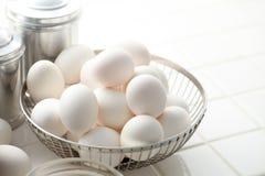 Cucina, uovo Fotografia Stock