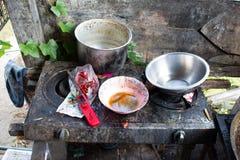 Cucina vecchia Immagini Stock Libere da Diritti