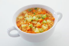 Cucina vegetariana nutriente Fotografie Stock