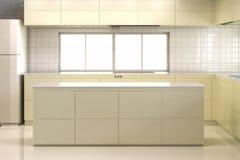 Cucina vuota Fotografia Stock