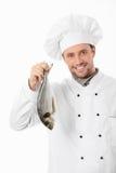 Cucini i pesci immagine stock