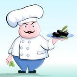 Cucini un vegetariano. royalty illustrazione gratis