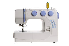 Cucire-macchina isolata Fotografie Stock Libere da Diritti
