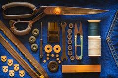 Cucitrice dell'attrezzatura. Fotografia Stock Libera da Diritti
